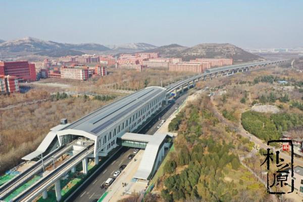 济南R1线元旦开启试跑,是全国首个清水混凝土地铁干线