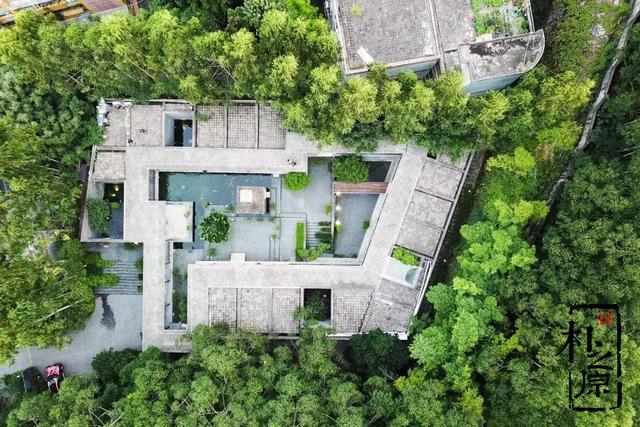 清水混凝土打造的中式庭院,你绝对会爱上它