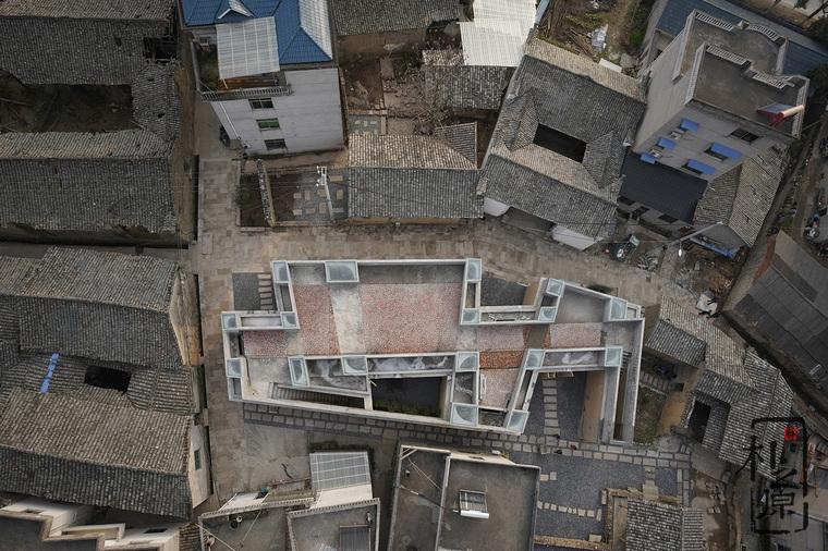 【设计物语】王村的王景纪念馆:夯土与水泥的结合