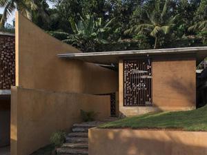 印度夯土房