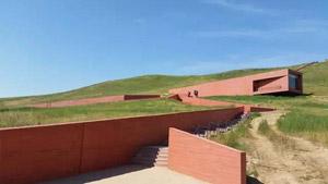 国内彩色清水混凝土建筑:内蒙古正蓝旗元上都遗址博物馆