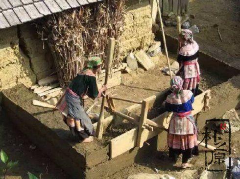 版筑夯土墙施工发源与材料
