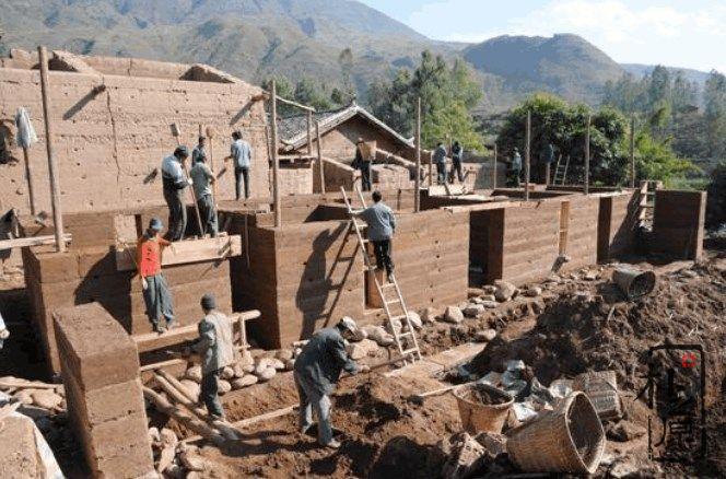 版筑夯土墙施工方法及高度比