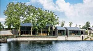 清水混凝土建筑:浙江大木山茶室