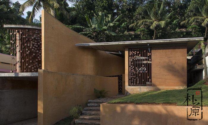 开挂民族建夯土墙房子,是当地居民的终生梦想