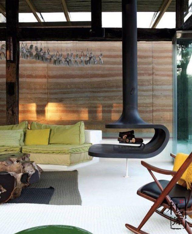现代生态夯土墙建筑,打造人与自然的和谐共生空间