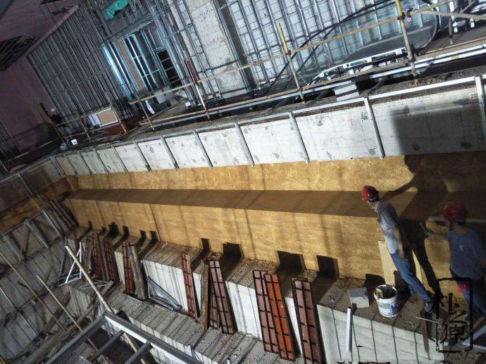 现代夯土墙的夯筑模板工艺及发展