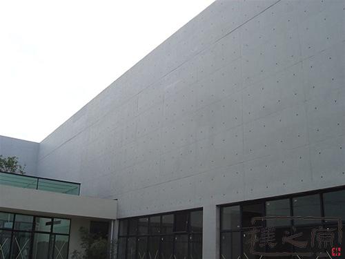 [玻璃钢檩条]清水混凝土挂板建筑