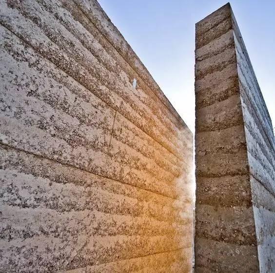 夯土墙材质
