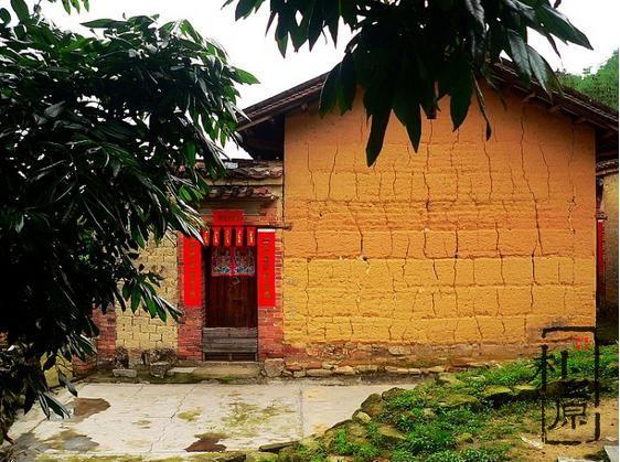 夯土墙房子