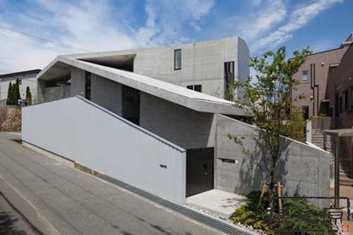 [搪瓷铝单板]清水混凝土建筑