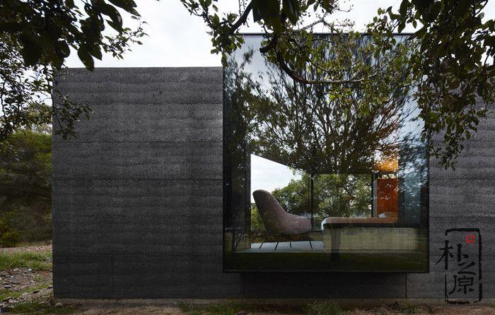 这种特色独具的夯土墙别墅,很多人没见过
