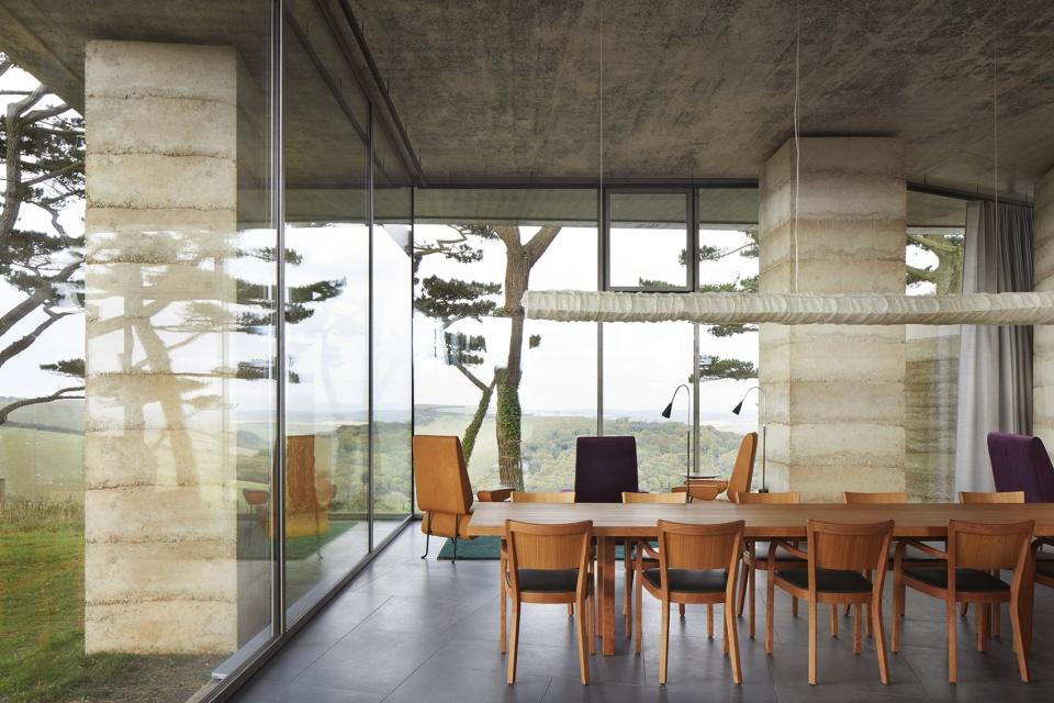 夯土墙设计:越是大师越采用简单材料,如彼得•卒姆托