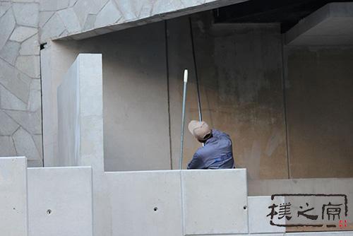 [仿青石栏杆]清水混凝土修补技术
