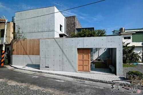 [防火胶合板]清水混凝土建筑