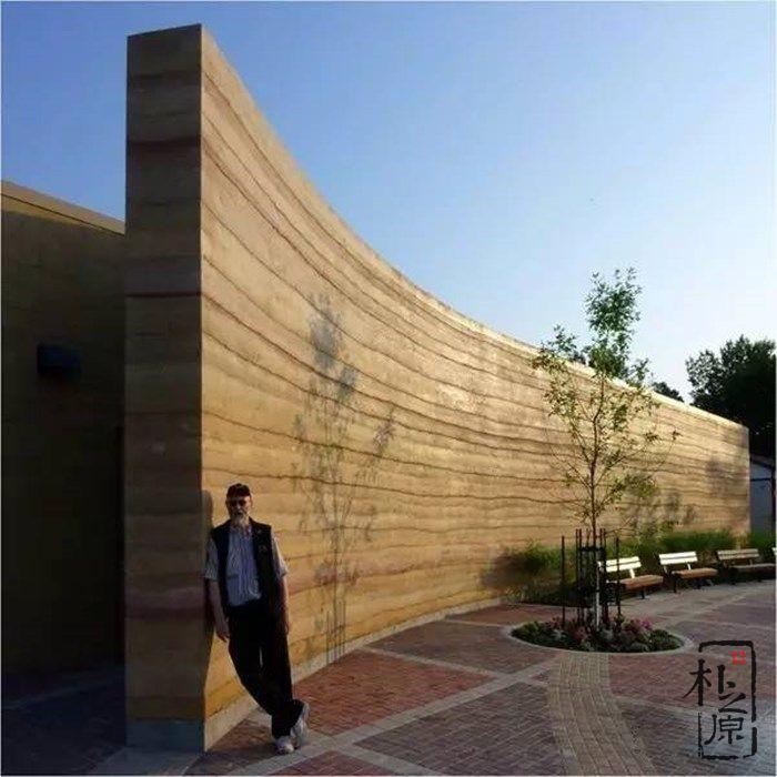 夯土墙景观
