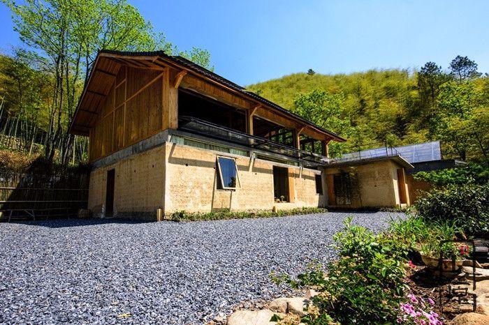 发源传统的中国夯土墙民宿:舒适宜居,品味浓郁
