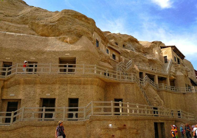 朴之原夯土墙 | 敦煌的建筑传统3