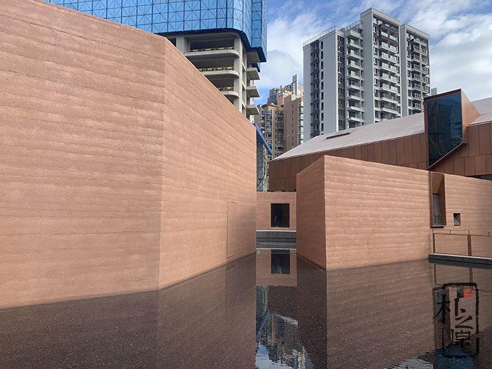 福州城市艺术中心—朴之原夯土墙项目