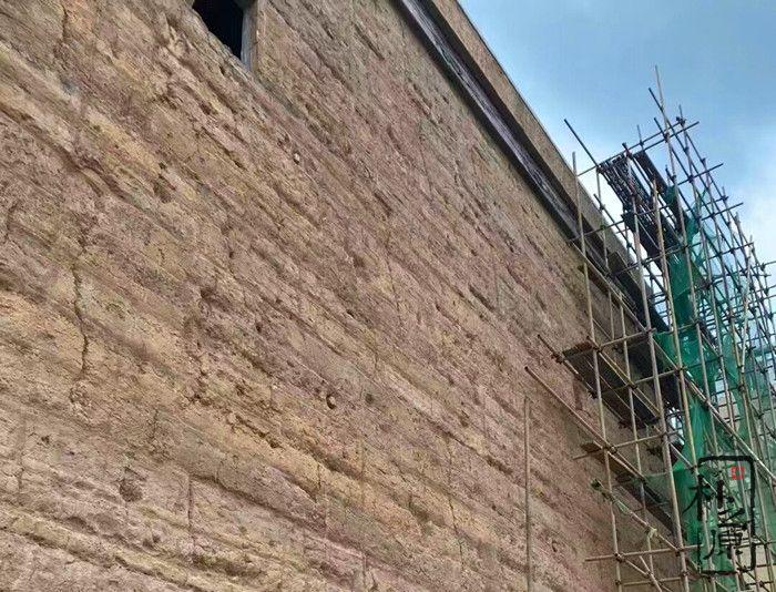 尘归尘土归土,肌理与夯土墙