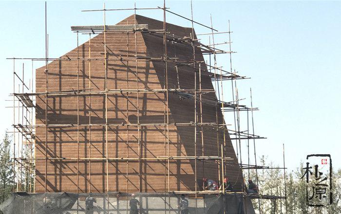 朴之原建筑肌理研究院   夯土墙为媒再塑自然文化艺术